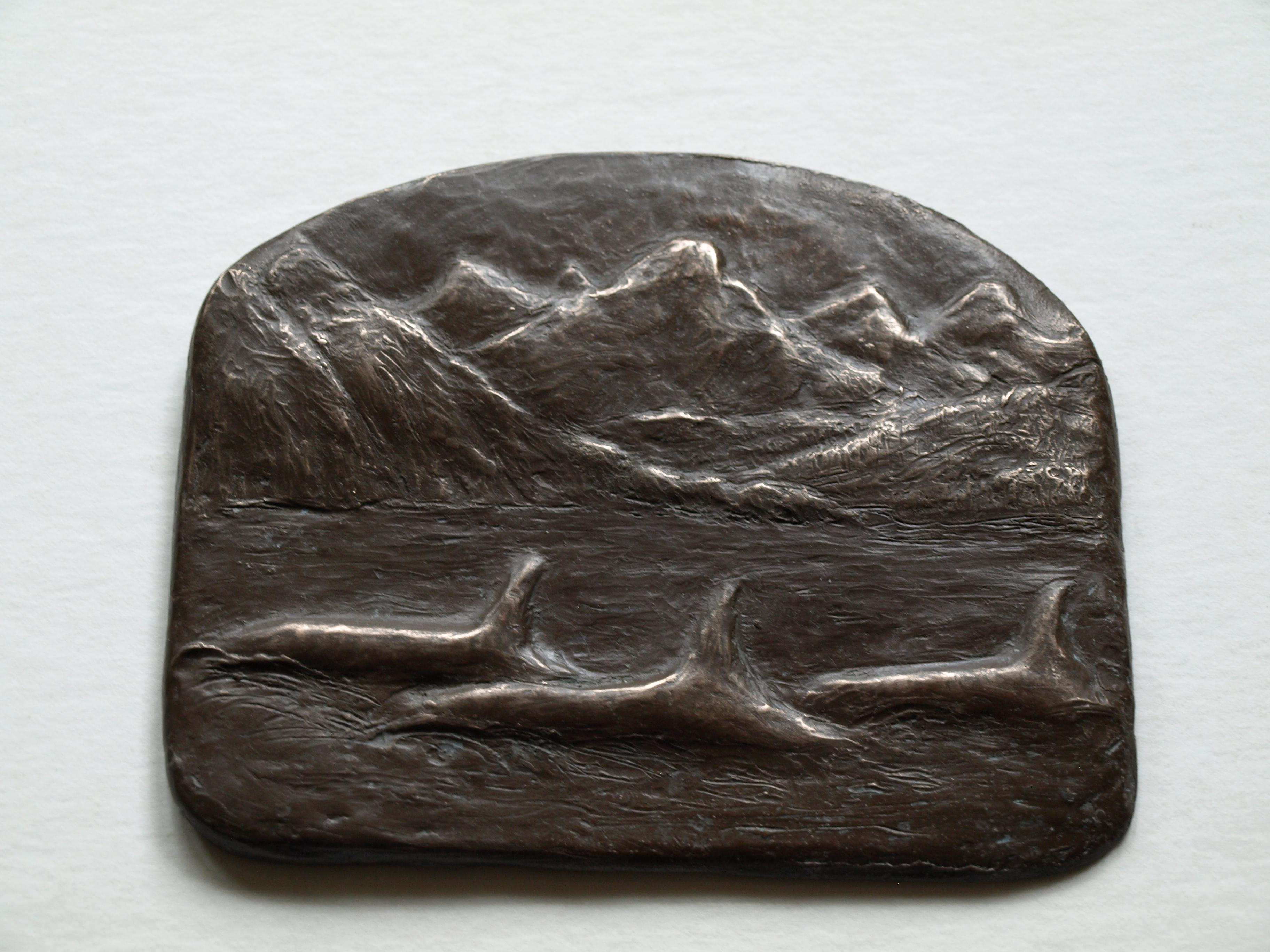 School of Orcas by Anne-Lise Deering