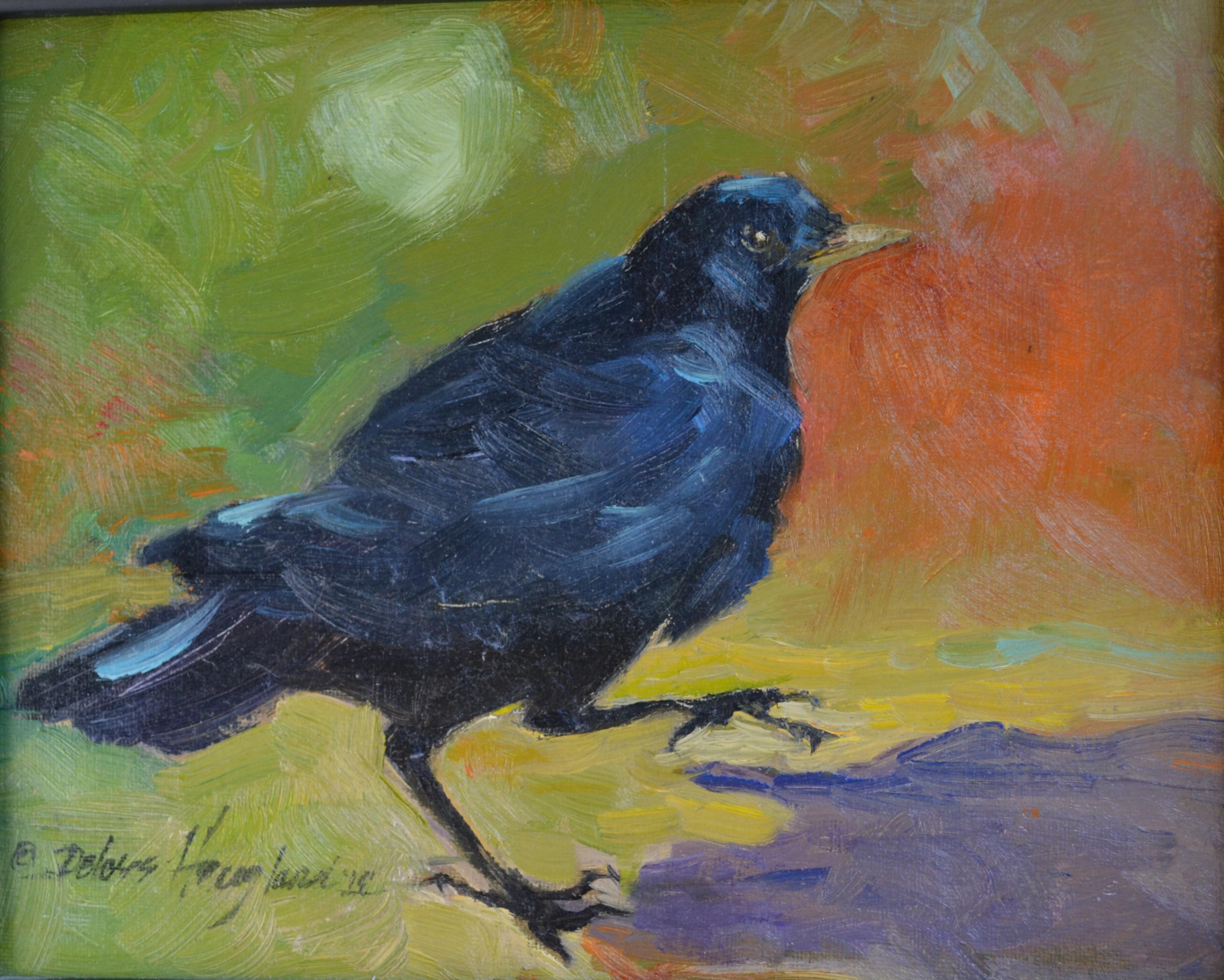 Crow Tai Chi by Delores Haugland, Oils, $319.61