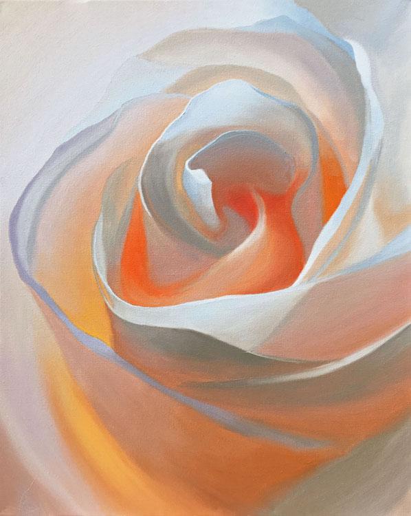 Rosebud by Ben Groff, Oil
