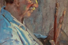 IM portrait of the artist